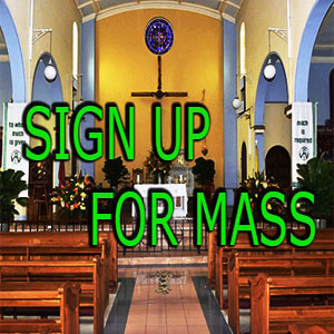 Mass sign up